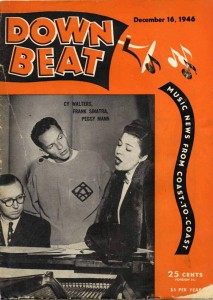 Down Beat Magazine 12.16.1946 Cover