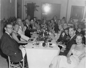 Cy at a Florida Banquet, 1952