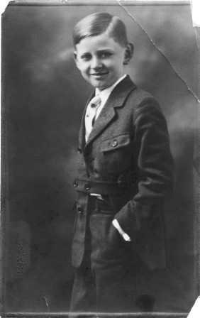 Cy Walter as a Child