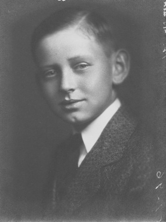 Cy Walter, age 12