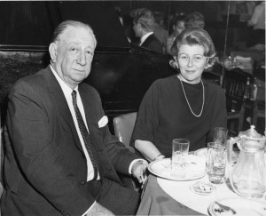 Melville Cooper and Betty DeWies