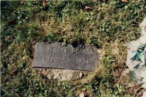 Harry Beard's Gravestone