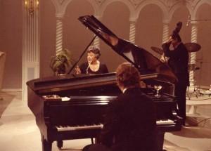 Willa Dean Mustin and Buddy Barnes (piano)