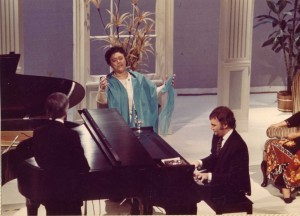 """Mabel Mercer & Buddy Barnes from """"An Evening With..."""" 1972"""