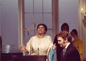"Mabel Mercer & Buddy Barnes, Redux, from ""An Evening With..."" 1972"