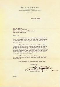 Arthur Godfrey To Cy Walter 07.13.1959