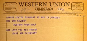Bart And Kathleen Howard To Cam 11.13.1955