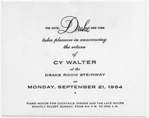 The Drake Room 09.21.1964
