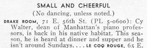 New Yorker Magazine 09.23.1950 Enlarged Excerpt