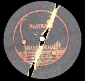 Piano Playhouse 09.13.1947 Transcription Disc Label Side 1
