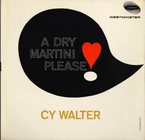 A Dry Martini, Please Cover