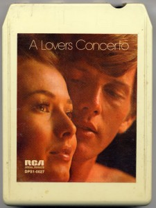 A Lovers' Concerto 8-Track Tape Cover