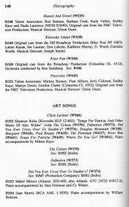 Alec Wilder A Bio-Bibliography Page 140