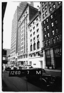Algonquin Hotel Street View 1940 Photo No. 1