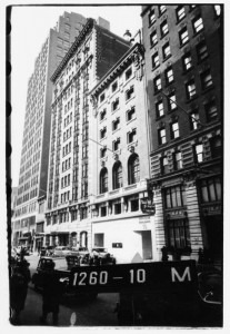 Algonquin Hotel Street View 1940 Photo No. 2