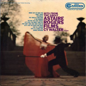 Hits From The Great Astaire-Rogers Films LP Cover