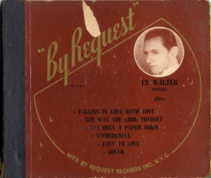 By Request 78rpm Cover