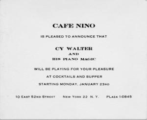 Café Nino 01.23.1956