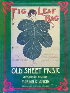 Old Sheet Music A Pictorial History Cover