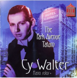 Cy Walter The Park Avenue Tatum Shellwood Productions CD Cover
