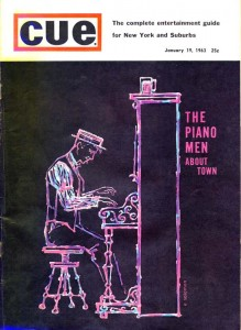 Cue Magazine 01.19.1963 Cover