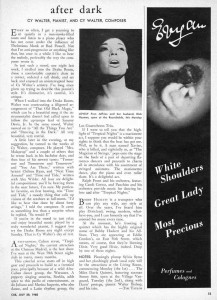 Cue Magazine 07.30.1960 Page 13