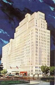 Drake Hotel Postcard 1965 Front