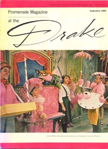 Promenade Magazine At The Drake September 1961 Cover