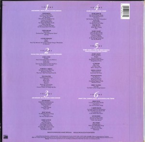 The Erteguns' New York Cabaret Music LP Back Cover