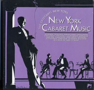 The Erteguns' New York Cabaret Music LP Cover