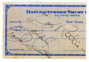 Frank Sinatra's Autograph