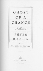 Ghost Of A Chance Title Page