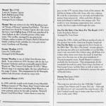Richard Glazier Harold Arlen Hooray For Love CD Liner Notes Pages 2 and 3