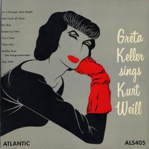 Greta Keller Sings Kurt Weill Cover