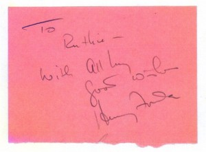Henry Fonda's Autograph