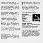 Lars Boye Jensen Gershwin The Modern Romantic CD Liner Notes Page 2