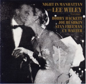 Night In Manhattan Lee Wiley CD Cover