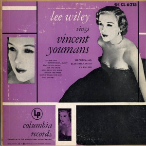 Lee Wiley Sings Vincent Youmans Cover