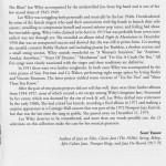 Lee Wiley Songbooks And Quiet Sensuality 1933-1951 CD Liner Notes Page 5