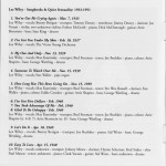Lee Wiley Songbooks And Quiet Sensuality 1933-1951 CD Liner Notes Page 6
