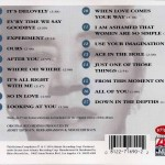Mabel Mercer Sings Cole Porter CD Back Cover