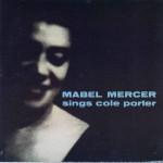 Mabel Mercer Sings Cole Porter CD Cover
