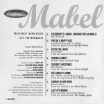 Mabel Mercer Previously Unreleased Live Performances Harbinger CD Liner Notes Page 2
