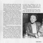 Mabel Mercer Previously Unreleased Live Performances Harbinger CD Liner Notes Page 5