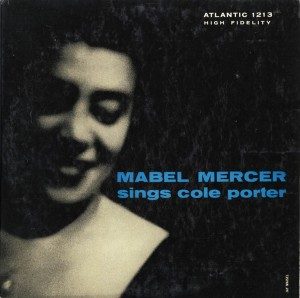 Mabel Mercer Sings Cole Porter LP Cover