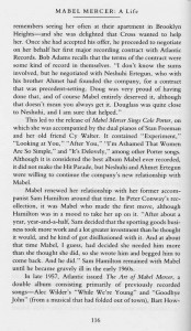 Mabel Mercer A Life Page 116
