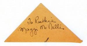 Maggi McNellis' Autograph