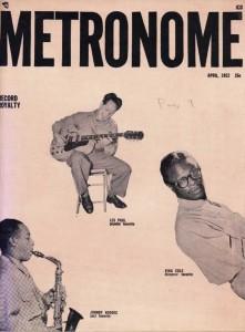 Metronome Magazine April 1952 Cover
