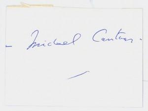 Michael Centaur's Autograph