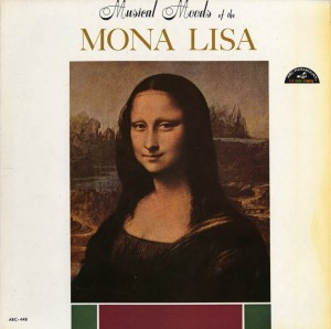 Musical Moods Of The Mona Lisa LP Cover